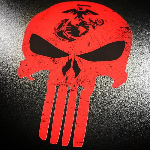 USMC Marines Punisher Skull
