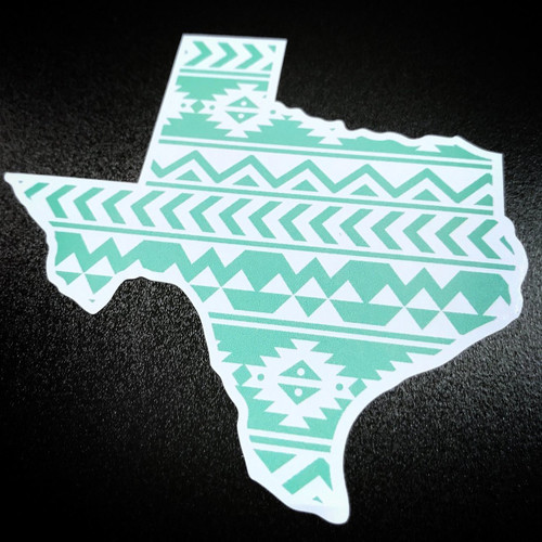 Texas Mint Aztec - Sticker
