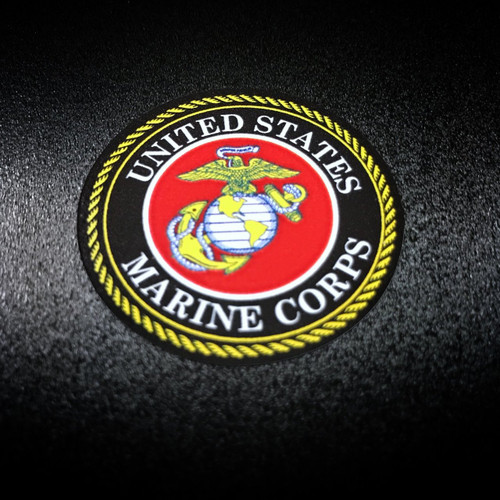 United States Marines Circle 6 Pack - Stickers