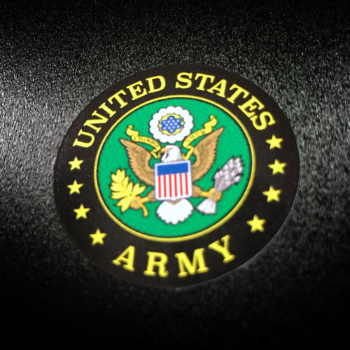 US Army Circle 6 Pack - Stickers