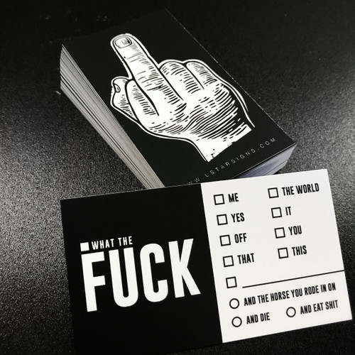 Fuck Card