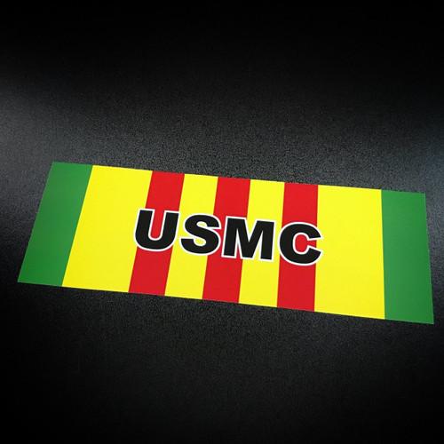 Vietnam Ribbon USMC - Sticker