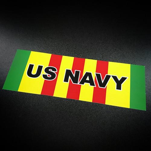Vietnam Ribbon US NAVY - Sticker