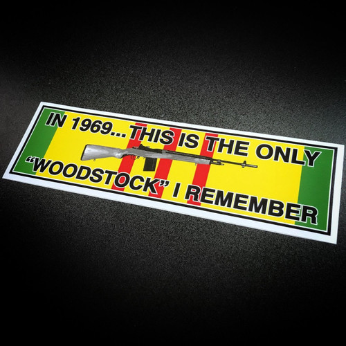 Woodstock Vietnam - Sticker