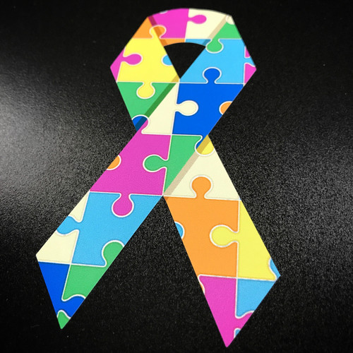 Autism Ribbon - Sticker