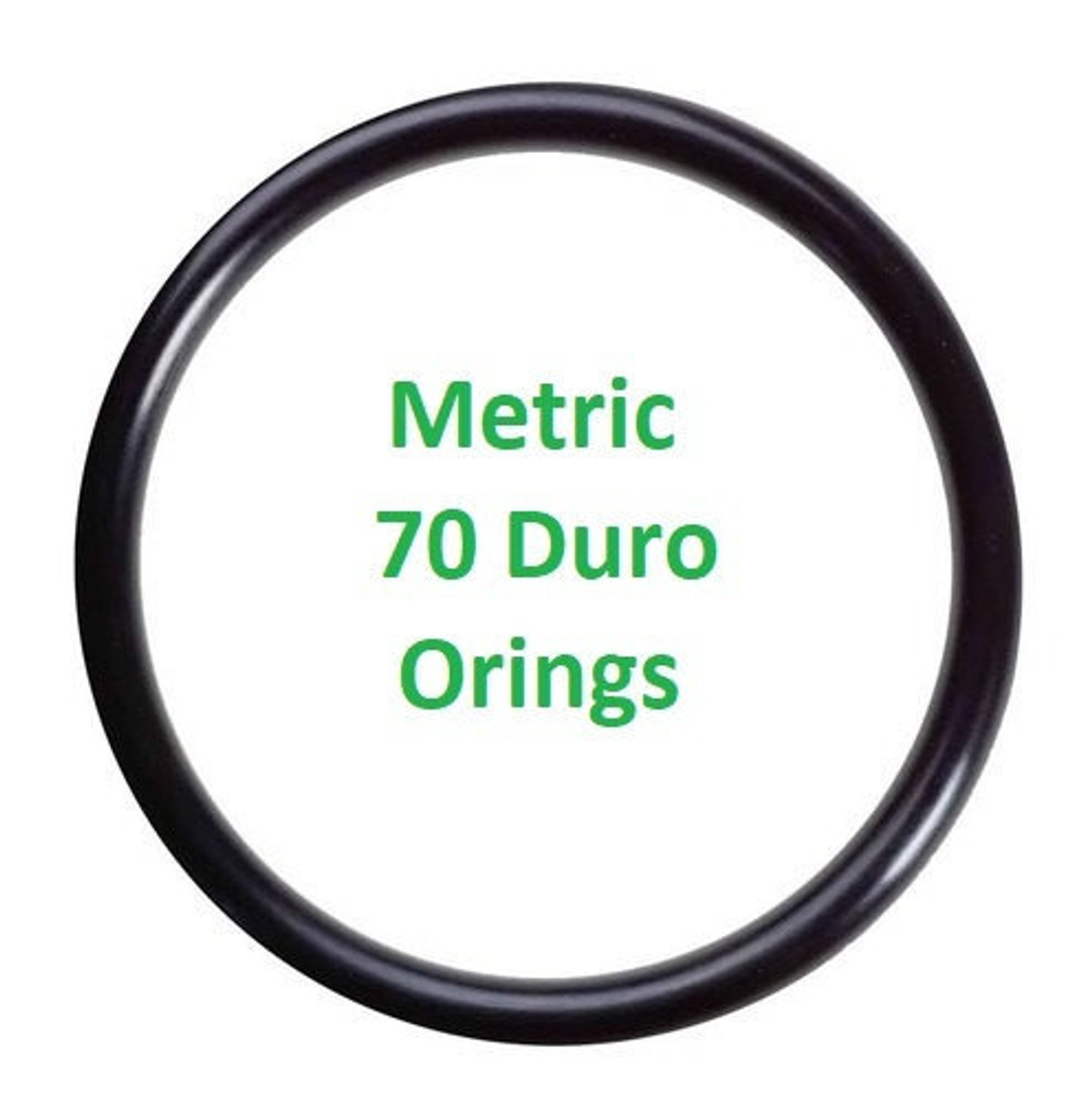 Metric Buna  O-rings 6 x 1.2mm  Price for 25 pcs
