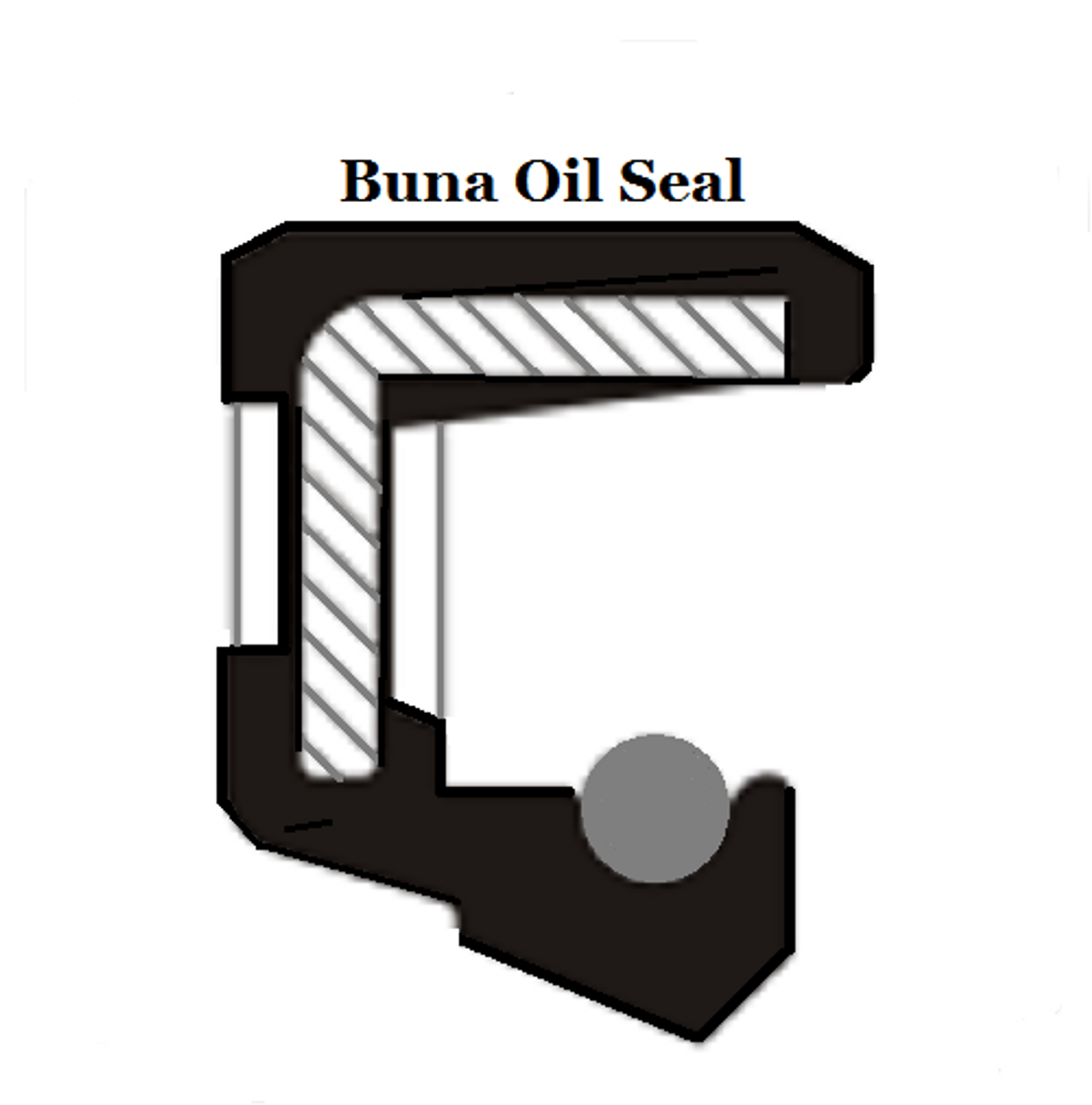 Oil Shaft Seal 10 x 16 x 4mm   Price for 1 pc