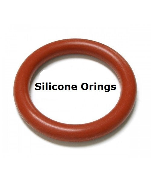 Silicone O-rings Size 138    Price for 5 pcs