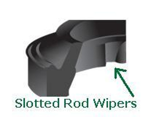 "Rod Wipers Slotted for 1/2"" Price for 1 pc"
