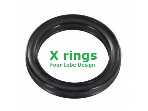 X Rings  Size 004 Price for 20 pcs