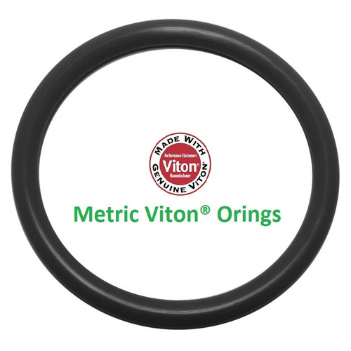 Viton®/FKM O-ring 7.6 x 2.4mm   Price for 5 pcs