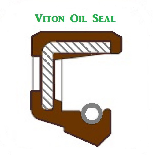 Viton Oil Shaft Seal 10 x 24 x 7mm  Price for 1 pc