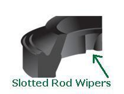 "Rod Wipers Slotted for 1-3/4"" Rod Price for 1 pc"
