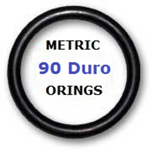 Buna 90 O-rings 1.24 x 2.62mm Price for 50 pcs