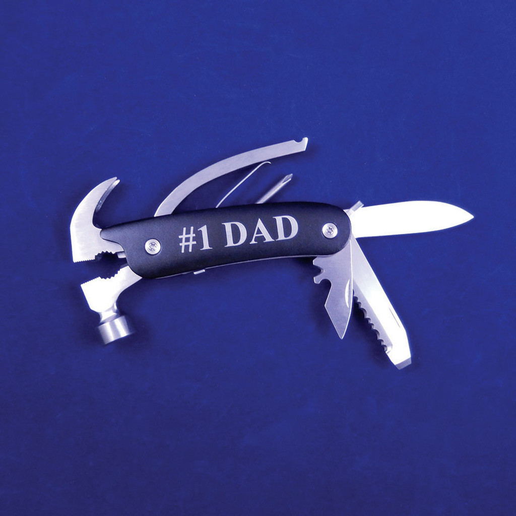 Personalized Black Multifunctional Tool