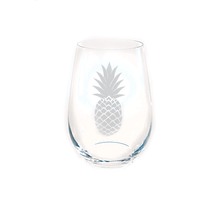 RIEDEL Small Stemless Wine Glass with Pineapple, Set of 4