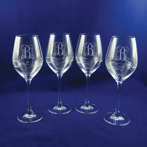 the crystal shoppe personalized wedding glassware barware gifts