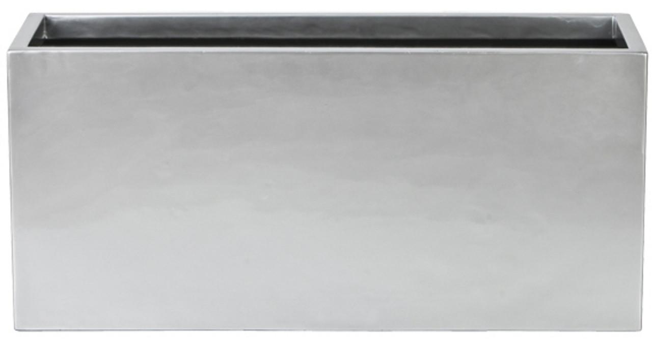 Lightweight indoor outdoor rectangular planter box