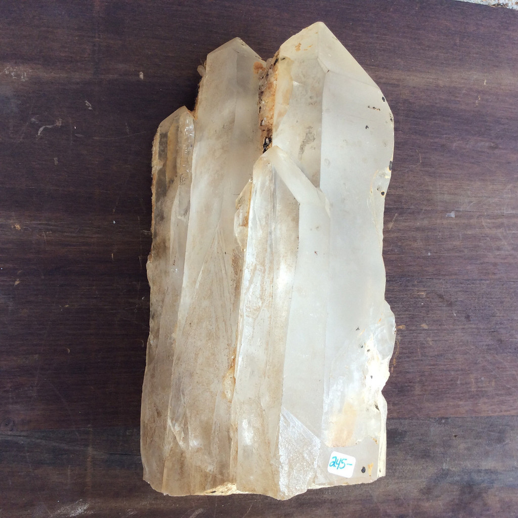 Rough Quartz Cluster- Large
