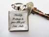 Keyring - Personalised Bridal Party (Father of the Bride)