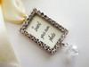 Bouquet Charm - DIY Rhinestones Blank (Silver) - Elise Design