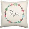Personalised Nursery Cushion Cover (Ava design)