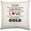 Personalised Cushion Cover (Love)