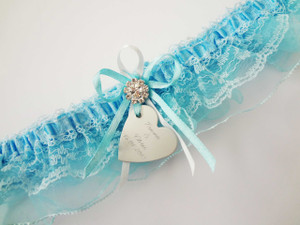 Personalised Garter - Christie design