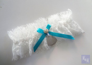 Personalised Garter - Cindy design