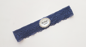 Personalised Garter - Clyde design