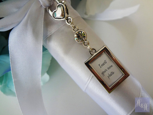 Bouquet Charm - DIY - w/ clear crystal
