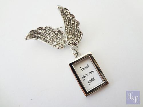Bouquet Brooch - Angel Wings DIY