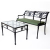 Filigree Design Star and Dolphin Double Settee