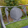 Seahorse and Shell Triple Settee