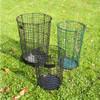 Woven Wire Wastebasket