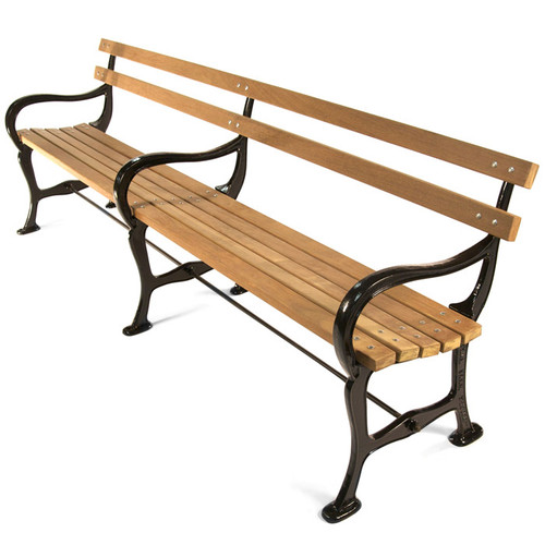 Central Park Settee with Armrest