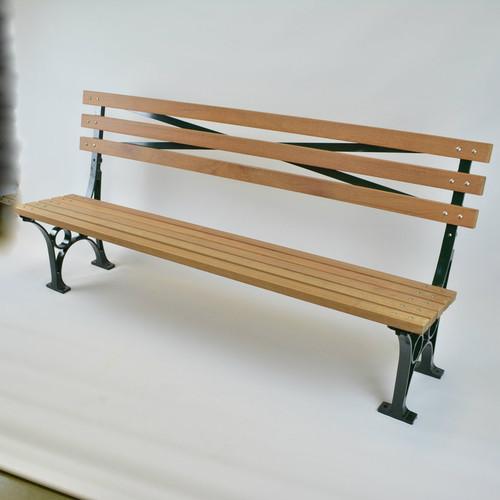 Crotona Park Armless  Bench