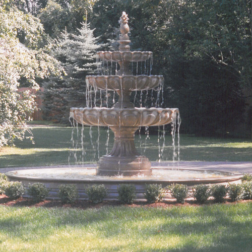 Classical Tiered Fountain