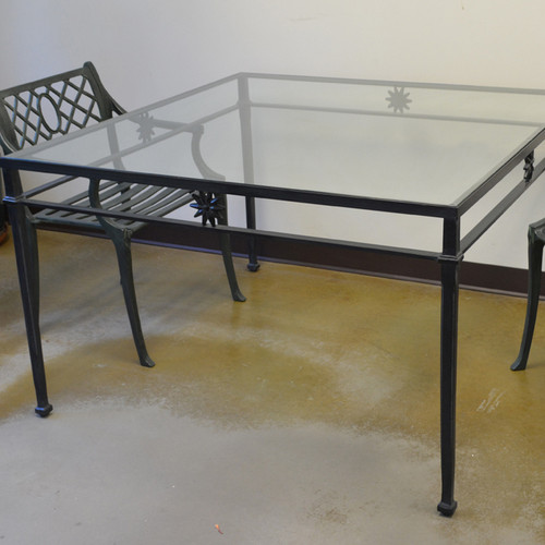 """Star Design Dinning Table, 48"""" square (Outlet)"""