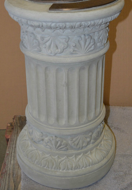 Fluted Column Pedestal