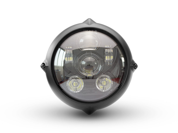 Motorbike LED Headlight for Projector Vintage Custom Retro Bike 7 Inch - TOP QUALITY