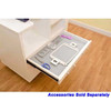 Arrow 9301J Ava Embroidery Cabinet In White For Janome And Elna