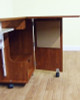 Arrow 62035 Sewing and Serger Cabinet in Teak