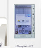 Janome Memory Craft 400E Embroidery Machine (Refurbished) - Full color LCD touchscreen