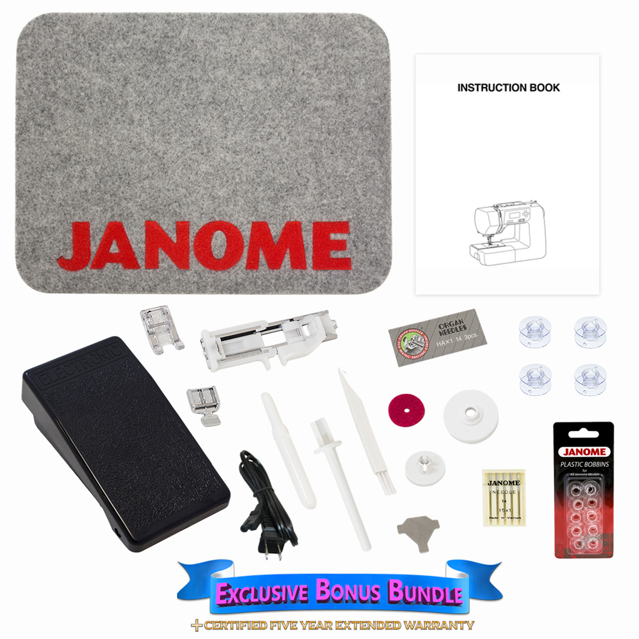 Janome dc1018 sewing machine with exclusive bonus bundle 29900 janome dc1018 sewing machine with exclusive bonus bundle 29900 free shipping fandeluxe Gallery