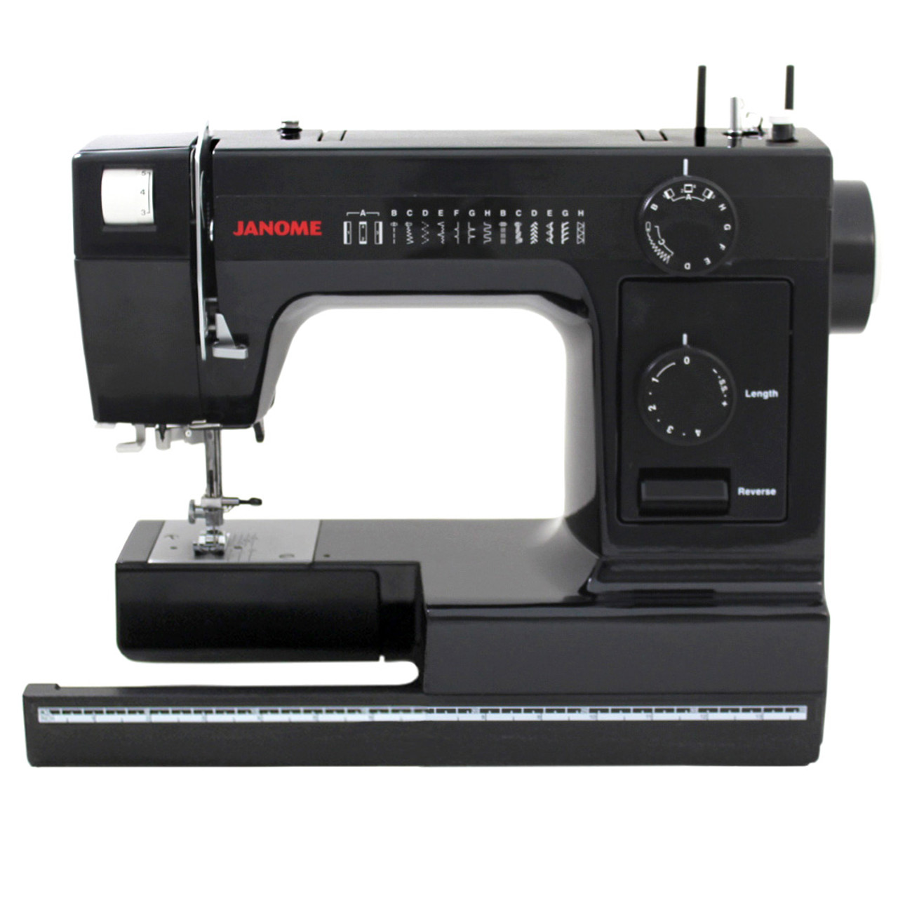 Janome HD1000 Black Edition Sewing Machine with Bonus Accessories ...