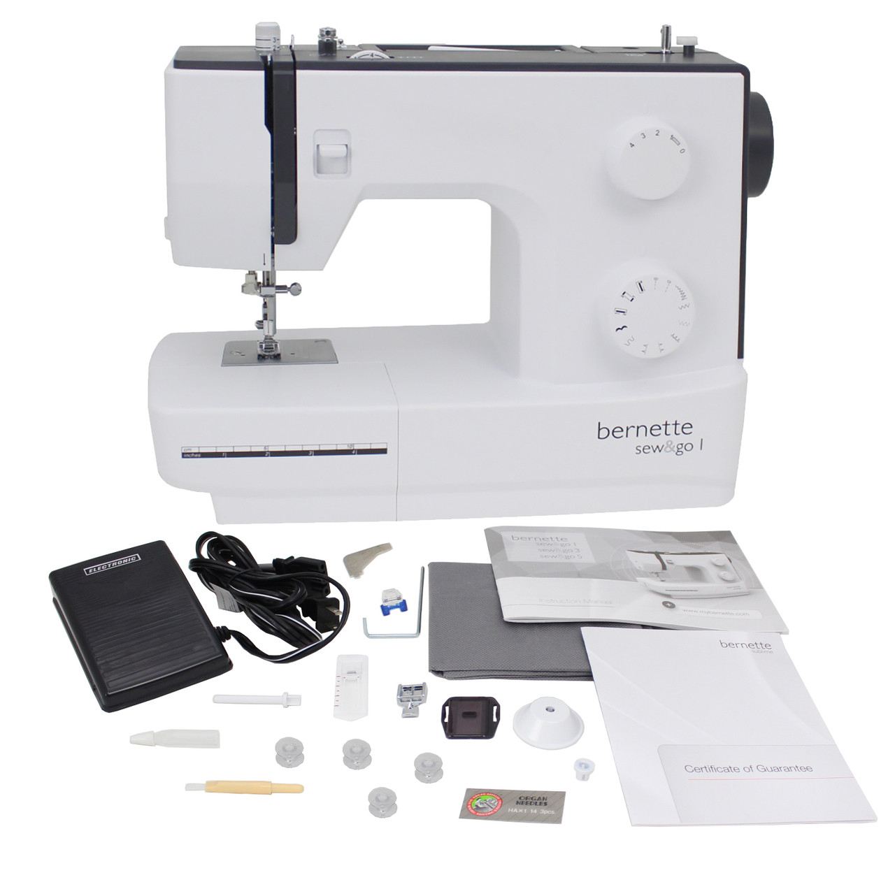 Bernette Sew and Go 1 Swiss Design Sewing Machine $149.00 - FREE ...