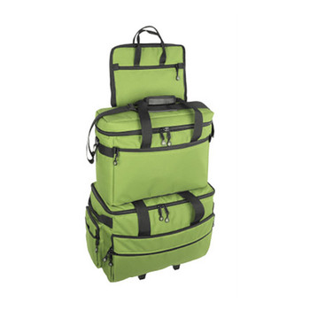 BlueFig TB19 Sewing Machine Carrier/Project Bag/Notion Bag (Lime)