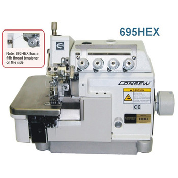 Consew Model 695HEX Overlock / Coverstitch Sewing Machine