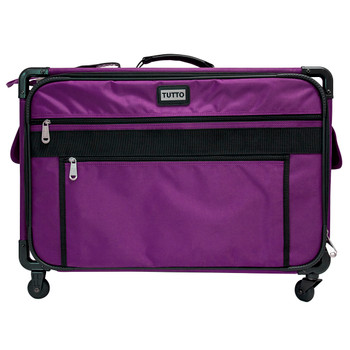 Tutto 1XL Purple Monster Machine Bag on Wheels